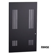 "Black Box Short Steel Doors - Vented, for 48""H Cabinets RM458"