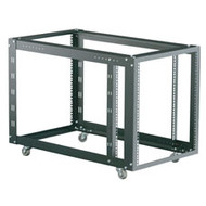 Black Box 4-Post Modular Rack with Adjustable M6 Rails RMT625A