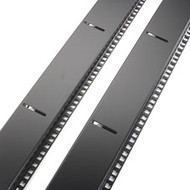 Black Box Extra Rails for Select and Select Plus Cabinets, 42U, Set of 2 SCRAIL42U-2