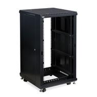 "Kendall Howard 22U LINIER® Server Cabinet - No Doors - 24"" Depth"