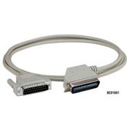 Black Box Dot-Matrix Printer (18-Conductor) Cable with Right-Angle Connector BC01602