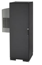 Black Box NEMA 12 Cabinet 8000BTU AC 42U 82.4x42.9x33.7 Tapped Rails 110V CC42U8000T-R2