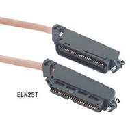 Black Box CAT3 Telco Connector Cable (UTP), PVC, 50-ft. (15.2-m) ELN25T-0050-FF