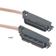 Black Box CAT3 Telco Connector Cable (UTP), PVC, 50-ft. (15.2-m) ELN25T-0050-MM