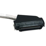 Black Box CAT5e 25-Pair Telco Connector Cable, 110 deg. Hood, Right-Angle, 50-Pi ELN28110T-0050-MM