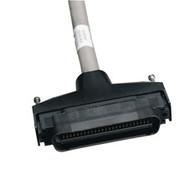 Black Box CAT5e 25-Pair Telco Connector Cable, 180 deg. Hood, Right-Angle, 50-Pi ELN28180T-0005-MM