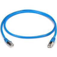 Black Box CAT5 Shielded Twisted-Pair Cable (STP) with Molded Boots, T568B, 4-Pai EVNSL171BL-0100