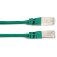 Black Box CAT5 Shielded Twisted-Pair Cable (STP), T568B, 4-Pair, RJ-45, Stranded EVNSL62T-0003