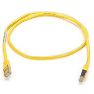 Black Box CAT5 Shielded Twisted-Pair Cable (STP), T568B, 4-Pair, RJ-45, Stranded EVNSL64T-0003