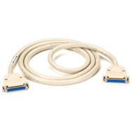 Black Box RS-530 Data Cable, 25-Pin (12 1/2 Pairs), Pinning 1-25, Female/Female, EVNT530-0010-FF