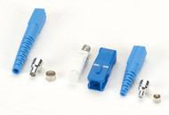 Black Box Fiber Optic Connector, Ceramic Ferrule, SC Single-Mode Simplex, 126-um FOT207-R2