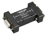 Black Box Async RS232 to RS485 interface converter DB9 to DB9 IC1625A-F