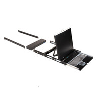 "Black Box ServTray Complete, 19"" Screen, with CATx Integrated KVM Tray Module, 1 KVT419A-16CATX-4IP"