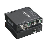 Black Box Hardened Media Converter Switch, 10-/100-Mbps Copper to 100-Mbps Fiber LBH100AE-H-ST