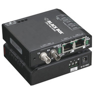 Black Box 3 Port Industrial Fast Ethernet Switch Standard Temperature LBH100A-SSC