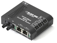 Black Box 3 Port Industrial Fast Ethernet Switch Standard Temperature LBH100A-ST