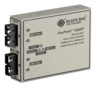 Black Box Media Converter Gigabit Ethernet MM 850nm SC SM 1310nm SC LMC1001A