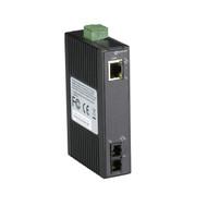 Black Box Hardened Mini Industrial Media Converter, (1) 10-/100-Mbps Copper LMC270A-SM-20K-SC