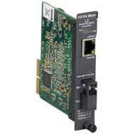 Black Box Layer2 MOD 100BASETX-100BASEFX SM 1550nm RX/1310nm-TX 20km SC LMC5124C-R3