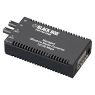 Black Box MGD Mini MED CONV 10/100 Copper to 100Mbps 1310nm SM Fiber 40km SC LMM104A-R2