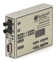 Black Box Async RS232 extender fiber DB9 Female SC SM 30 km ME662A-SST