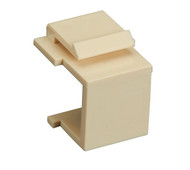 Black Box Blank Ivory Keystone Snap Fitting, 10-Pack WPIV-BLANK-10PAK