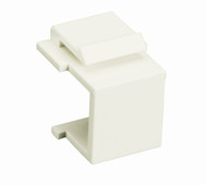 Black Box White Blank Keystone Snap Fitting, 10-Pack WPWH-BLANK-10PAK