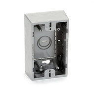 Black Box Surface-Mount Box, Single-Gang, Gray WP170GR