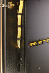 Black Box QuietCab Cable Manager, 24U, Vertical, Standard QCCMV-24U-S