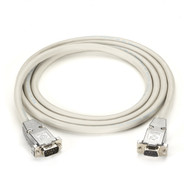 Black Box DB9 Serial Null-Modem Cable - DB9 Male/DB9 Male, 10-ft. EYN257T-0010-MM