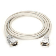 Black Box DB9 Serial Null-Modem Cable - DB9 Male/DB9 Male, 15-ft. EYN257T-0015-MM