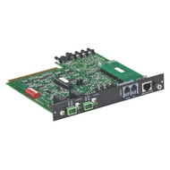Black Box 4U Gang Switch Controller Card, Ethernet (SNMP)/RS232 SM762A