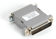 Black Box Null-Modem Adapter, Pinning B, DB25 Male/Male 522302