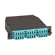 Black Box OM3 Fiber Optic Cassette (LGX) - Type B, (1) 24-fiber MTP(R) MPO-Style FOCA25M3-1MP24-24LC
