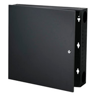 Black Box Wallmount Cabinet - 2U, Black RM425A-R3