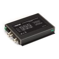 Black Box Universal Video/Stereo Audio Fiber Extender Transmitter AC300A-TX-R2