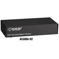 Black Box 2-Channel CAT5 VGA Video Splitter AC500A-R2