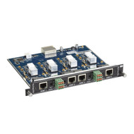 Black Box Modular Video Matrix Switcher Output Card - 4K, RJ-45, Analog Audi AVS-4O-HDB