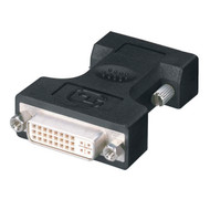 Black Box Digital Visual Interface (DVI) Adapter, DVI-I Female-VGA HD15 Male FA462