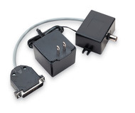 Black Box Async RS232 Extender DB25 M to Coax IC025A