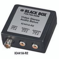 Black Box Video/Stereo Audio Balun IC441A-R2