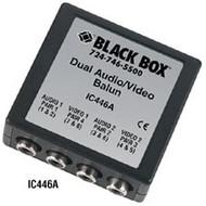 Black Box Dual Audio/Video Balun IC446A