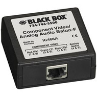 Black Box Component Video/Analog Audio Balun, Female IC468A