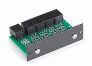 Black Box RS-232 Modem Splitter with RJ-45 Rackmount Card - 4-Port TL421-C