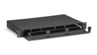Black Box Rackmount Fiber Shelf with Pull-Out Tray - 1U JPM427A-R2
