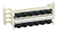 Black Box Prewired CAT5, RJ-45, 110 Block with Universal Wiring - 100-Pair, 12-P 36715-R2