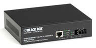 Black Box Media Converter Gigabit Ethernet PoE Multimode 850nm 550m LC LPS500A-MM-LC