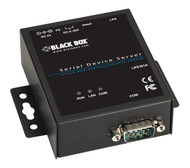 Black Box 1-Port 10/100 Device Server, RS-232/422/485, DB9 M LES301A