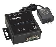 Black Box 1-Port 10/100 Device Server - RS-232/422/485, DB9 M, Kit LES301A-KIT