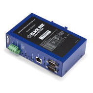 Black Box Industrial Ethernet Serial Server, 2-Port LES402A